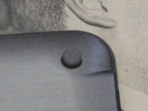 MSI WindPad 110W 分解 裏ブタ ネジキャップ