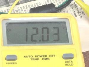 110W 電源 電圧 電流 測定 治具 12V