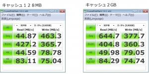 110W SDXC 64GB ローカルディスク化 HDD化 ハードディスク化 ベンチマーク