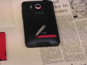 google アンドロイド HTC EVO WiMAX(au ISW11HT) スタンドアーム