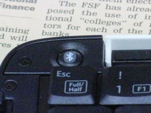 ペアリングボタン アンドロイド HTC EVO ISW11HT SPP モード接続  TK-FBP018 Bluetooth