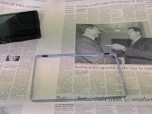 HP Slate 2 Tablet PC 禁断の分解編 フレーム外し