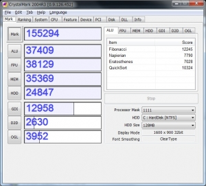 ASUS ZENBOOK UX31E-RY128 UX31E UX21E ベンチ 分解 評価 レビュー 高速化 増設 CrystalMark2004R3 その1