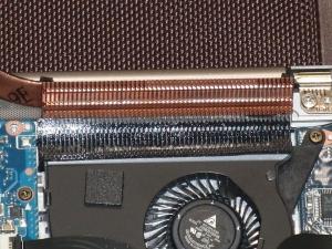 ASUS ZENBOOK UX31E UX31E-RY128 UX21 分解 ヒートパイプ ラジエータ