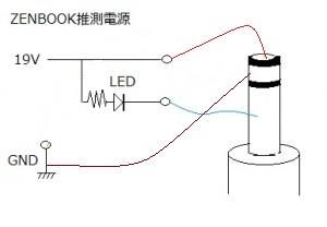 zenbook ac adapter acアダプタ 電源 推測 回路図
