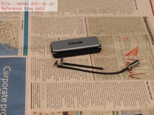 PC用チューナー PCチューナー DT-F200/U2W 分解 評価 レビュー DT-OP-RA アンテナ 地デジ ワンセグ フルセグ