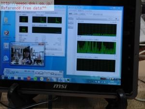 dt-f200/u2w 評価 レビュー ドライバ CPUパワー ディスク負荷 ちょいテレ・フルでどこでも地デジ・ワンセグ ちょいテレ・フル Wチューナー リソースモニタ タスクマネージャ