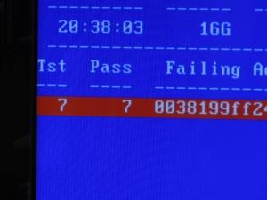 Aspire AS5750-F58D/LK メモリ増設 / メモリ交換 / メンテナンスマニュアル(メモリテストツール MEMTEST+86 usb 起動 活用)