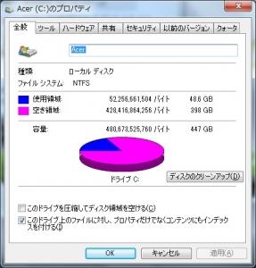 メモリ交換 メモリ増設 pagefile.sys hiberfil.sys