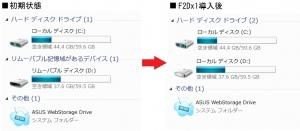 ASUS eee slate B121 SDカードのHDD化 SDHC SDXC HDD化 ローカルディスク化