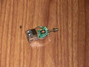カーソケット 変換アダプタ USB