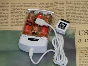 No4. 【2本刺し・電池別】携帯充電器 スマホ充電器 測定 評価 比較 レビュー inG SD25CS編