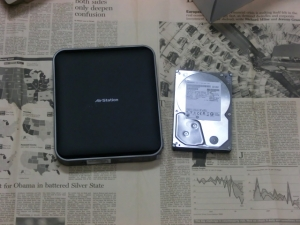 WZR-D1100H 11ac レビュー 評価 ベンチマーク パッケージ 本体大きさ比較
