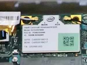 インテル Wi-Fi centrino-advanced n6235 300mbps 高速ユニット