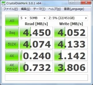 ASUS U24E PX24330 Wi-Fi無線LAN ベンチマーク 速度測定