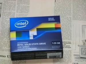 ディスク交換 ベンチマーク インテル 330 Series SSDSC2CT120A3K5 ASUS U24Eに換装