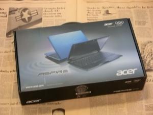 Acer Aspire One 722 AO722-CM303 評価 ベンチマーク 高速化 化粧箱