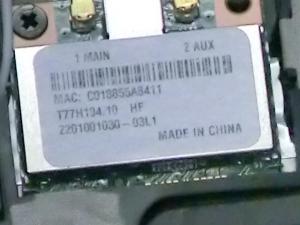 Acer Aspire One 722 AO722-CM303 評価 ベンチマーク 高速化 WiFi