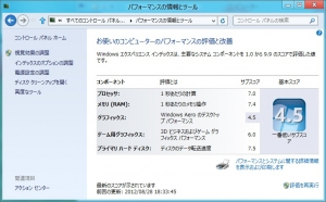 Windows8 Release Preview+ASUS U24E 高速化・評価・レビュー