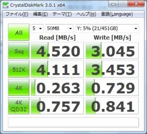 ASUS U24A PX3210 Wi-Fi無線LAN ベンチマーク 速度測定