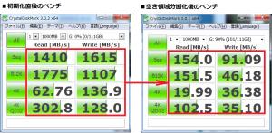 SSD 高速化 デフラグ