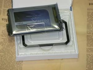 Crucial M500 SSD 120GB レビュー パッケージ開封
