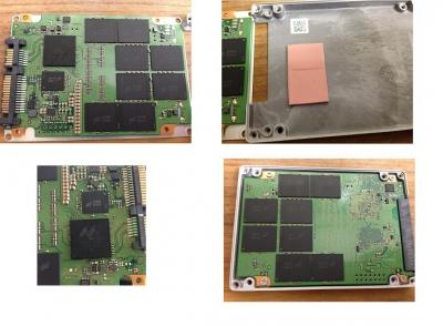 crucial SSD 分解