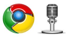 google chromeで音声入力