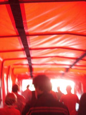 防護トンネル
