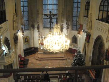 王宮礼拝堂内部