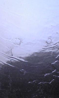 日和佐でゲリラ豪雨