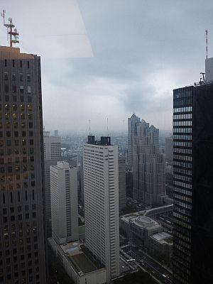 新宿野村ビル48階から