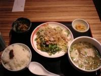 日本で食べた初食事!