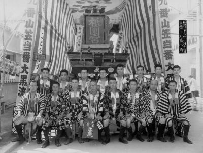 昭和35年取締記念写真
