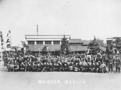 昭和30年おくんち武者行列