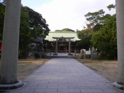 唐津神社です