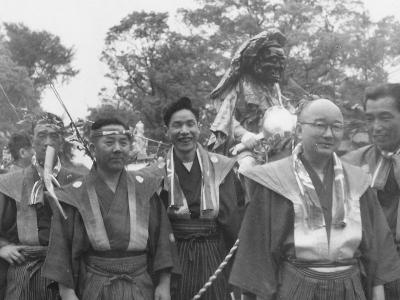 昭和31年松囃子