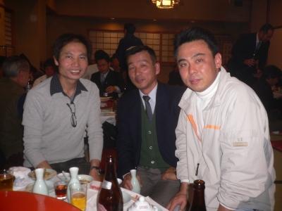 和田、東野、中野
