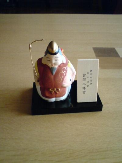 恵比須さんの土鈴