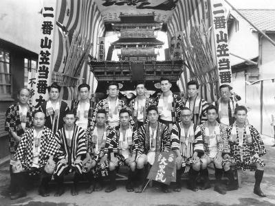 昭和33年取締記念写真