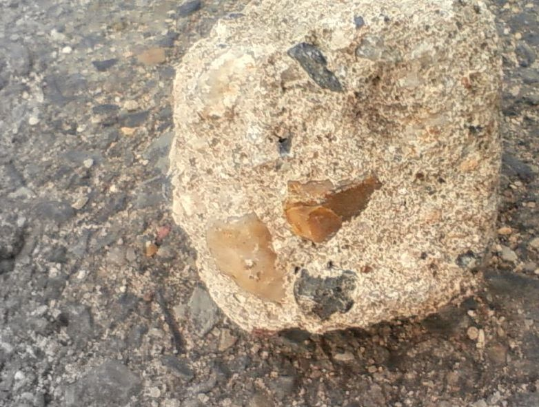 石けり用石