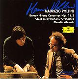 バルトーク:ピアノ協奏曲第1番、第3番、ポリーニ(DG)