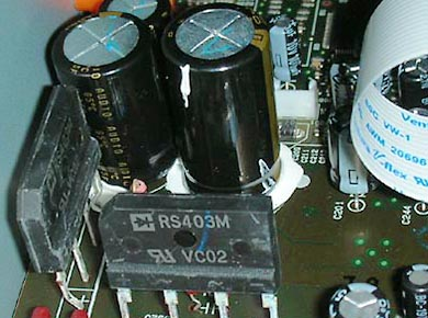 C-7030、電源部