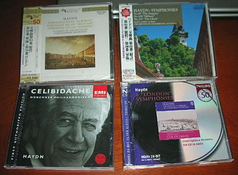 ハイドンの交響曲