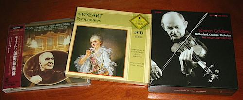 モーツァルト、交響曲CD