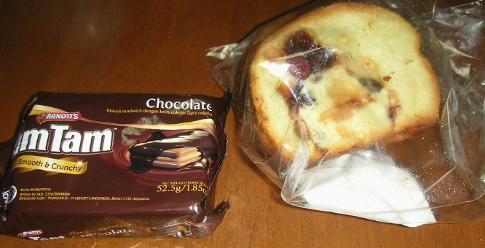 ビスケットとパン