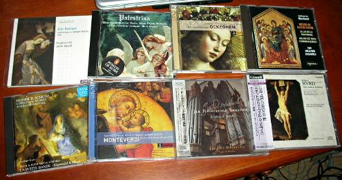 残しておくルネサンス音楽CD
