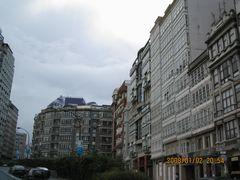 アコルーニャの街並み