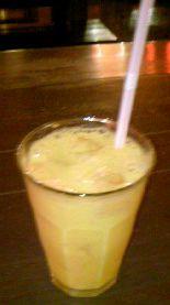 マンゴー豆乳