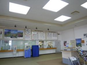 礼文島フェリーターミナル